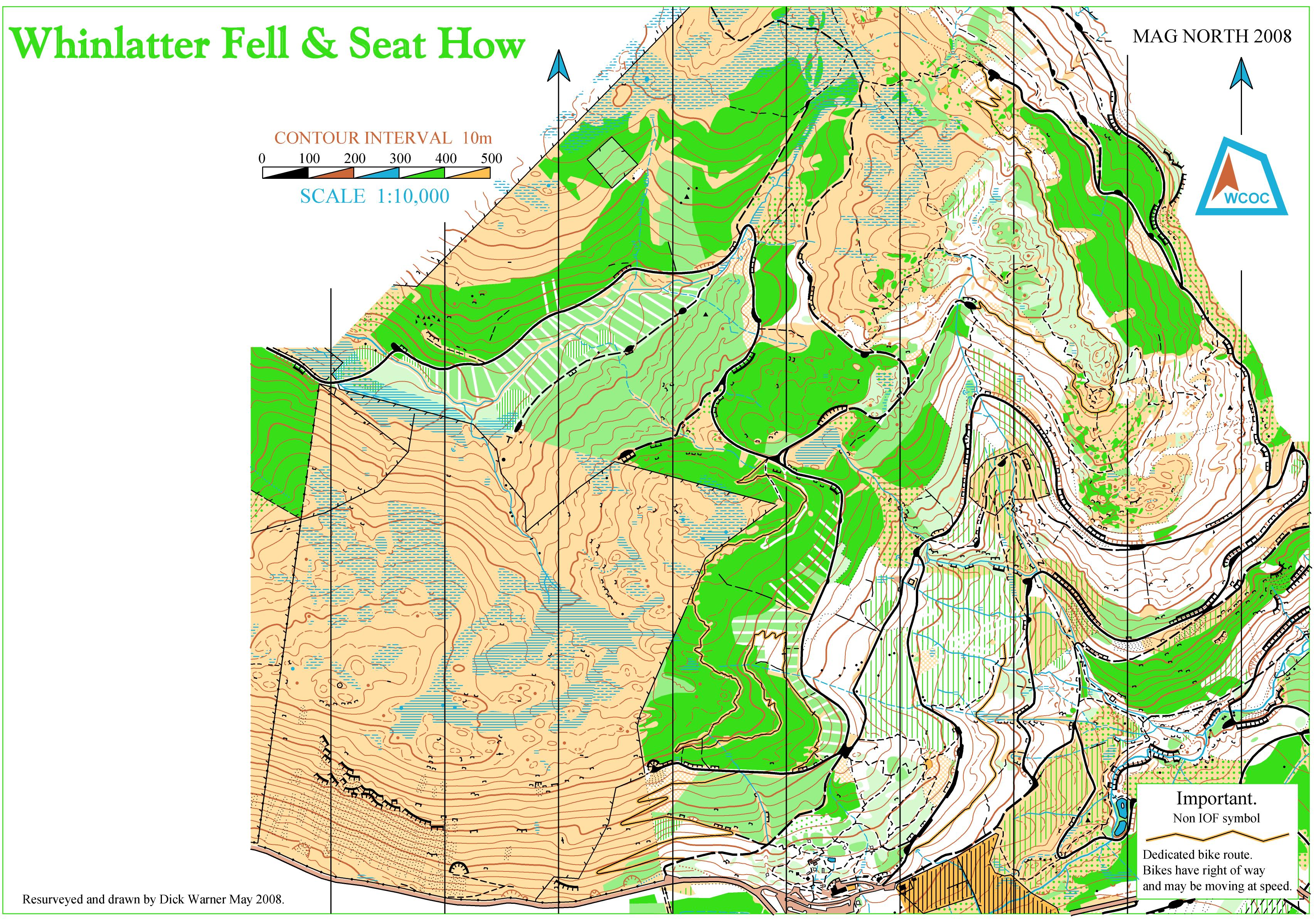 Seat how whinlatter july 13th 2008 orienteering map from view map jpg biocorpaavc